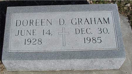 GRAHAM, DOREEN D. - Ida County, Iowa   DOREEN D. GRAHAM