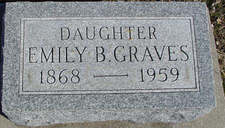 GRAVES, EMILY B. - Ida County, Iowa | EMILY B. GRAVES