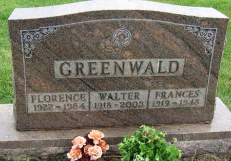 GREENWALD, FLORENCE - Ida County, Iowa | FLORENCE GREENWALD