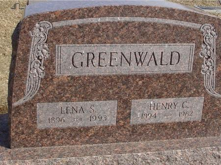 GREENWALD, LENA - Ida County, Iowa | LENA GREENWALD