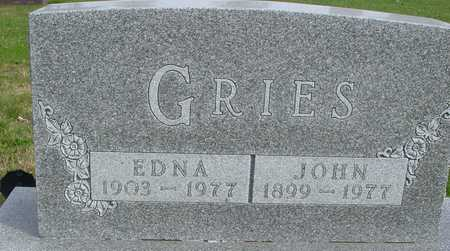 GRIES, JOHN & EDNA - Ida County, Iowa | JOHN & EDNA GRIES