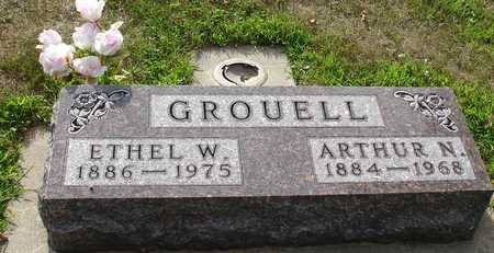 GROUELL, ARTHUR & ETHEL W. - Ida County, Iowa | ARTHUR & ETHEL W. GROUELL