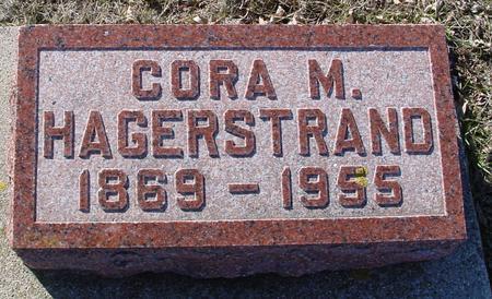HAGERSTRAND, CORA - Ida County, Iowa | CORA HAGERSTRAND