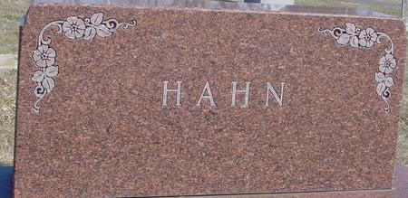 HAHN, HARRY & MINNIE - Ida County, Iowa | HARRY & MINNIE HAHN