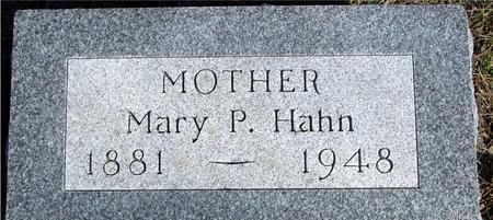 HAHN, MARY P. - Ida County, Iowa | MARY P. HAHN
