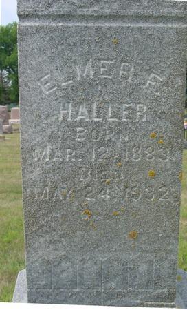 HALLER, ELMER F. - Ida County, Iowa | ELMER F. HALLER