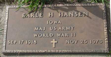 HANSEN, EARLE H. - Ida County, Iowa | EARLE H. HANSEN