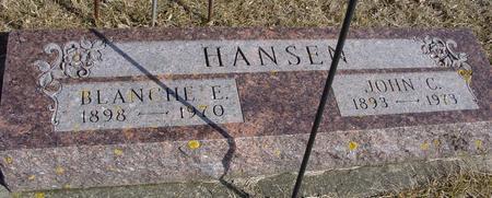 HANSEN, JOHN C. & BLANCHE - Ida County, Iowa | JOHN C. & BLANCHE HANSEN