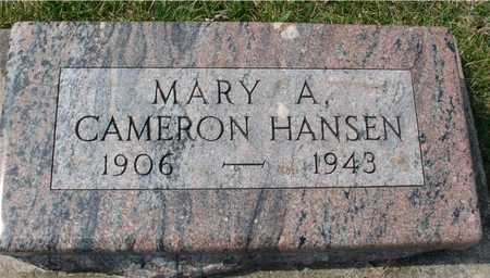 CAMERON HANSEN, MARY A. - Ida County, Iowa | MARY A. CAMERON HANSEN