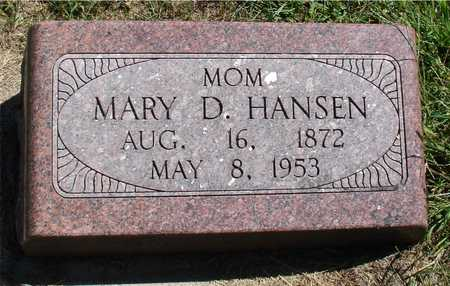 HANSEN, MARY D. - Ida County, Iowa | MARY D. HANSEN