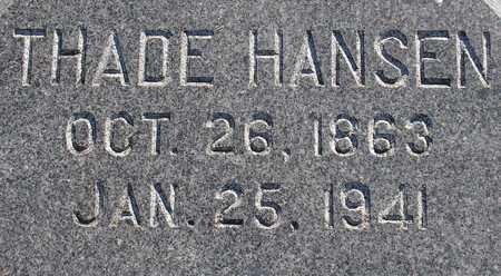 HANSEN, THADE - Ida County, Iowa | THADE HANSEN