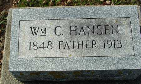 HANSEN, WILLIAM C. - Ida County, Iowa | WILLIAM C. HANSEN