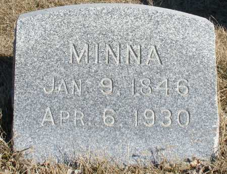 HANSMANN, MINNA - Ida County, Iowa | MINNA HANSMANN