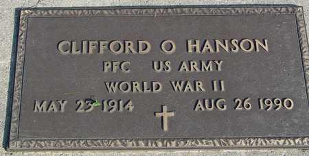 HANSON, CLIFFORD O. - Ida County, Iowa | CLIFFORD O. HANSON