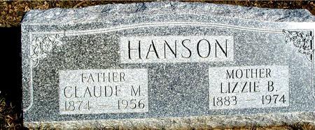 HANSON, CLAUDE & LIZZIE - Ida County, Iowa | CLAUDE & LIZZIE HANSON