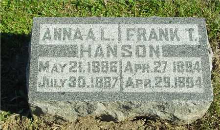 HANSON, FRANK & ANNA - Ida County, Iowa | FRANK & ANNA HANSON