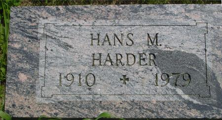 HARDER, HANS  M. - Ida County, Iowa | HANS  M. HARDER
