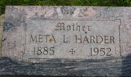 HARDER, META - Ida County, Iowa | META HARDER