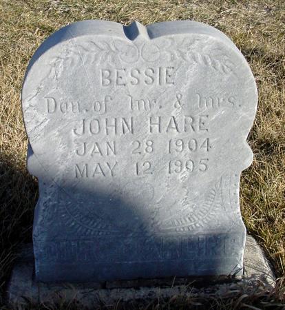 HARE, BESSIE - Ida County, Iowa | BESSIE HARE