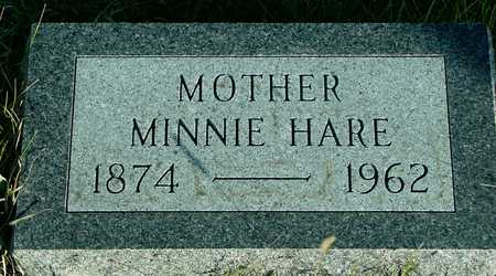 HARE, MINNIE - Ida County, Iowa | MINNIE HARE