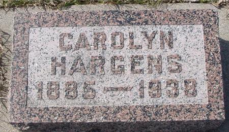 HARGENS, CAROLYN - Ida County, Iowa | CAROLYN HARGENS