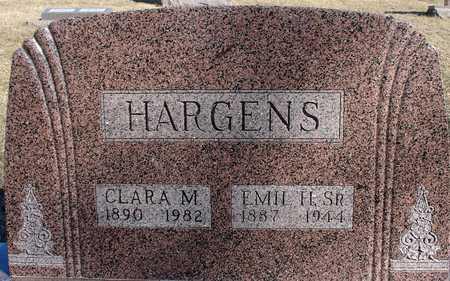 HARGENS, EMIL H., SR. & CLARA - Ida County, Iowa | EMIL H., SR. & CLARA HARGENS