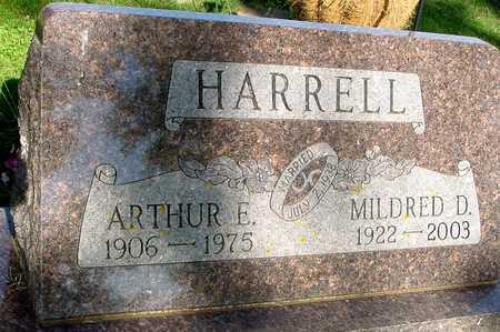 HARRELL, ARTHUR & MILDRED D. - Ida County, Iowa | ARTHUR & MILDRED D. HARRELL