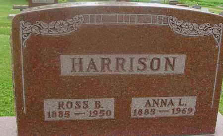 HARRISON, ROSS & ANNA - Ida County, Iowa | ROSS & ANNA HARRISON