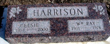 HARRISON, WM. RAY & ELSIE - Ida County, Iowa | WM. RAY & ELSIE HARRISON