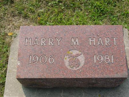 HART, HARRY M. - Ida County, Iowa | HARRY M. HART