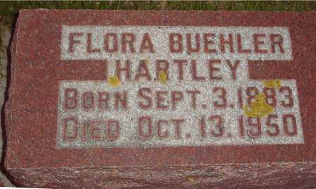 BUEHLER HARTLEY, FLORA - Ida County, Iowa | FLORA BUEHLER HARTLEY