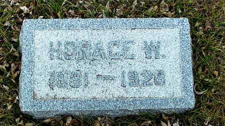 HARTMAN, HORACE W. - Ida County, Iowa | HORACE W. HARTMAN