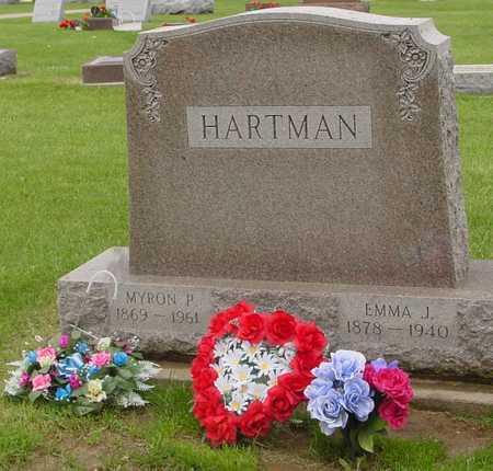 HARTMAN, MYRON & EMMA J. - Ida County, Iowa | MYRON & EMMA J. HARTMAN