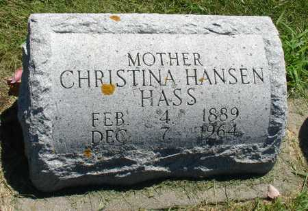 HASS, CHRISTINA - Ida County, Iowa | CHRISTINA HASS