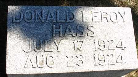 HASS, DONALD LEROY - Ida County, Iowa | DONALD LEROY HASS