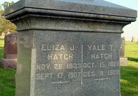 HATCH, ELIZA J. - Ida County, Iowa | ELIZA J. HATCH