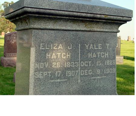 HATCH, YALE - Ida County, Iowa | YALE HATCH
