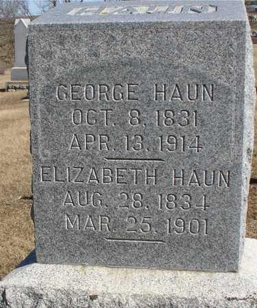 HAUN, ELIZABETH - Ida County, Iowa | ELIZABETH HAUN