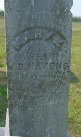 HAVENS, MARY E. - Ida County, Iowa | MARY E. HAVENS