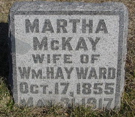 HAYWARD, MARTHA - Ida County, Iowa | MARTHA HAYWARD