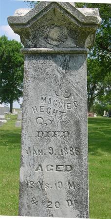 HECHT, MAGGIE  B. - Ida County, Iowa | MAGGIE  B. HECHT