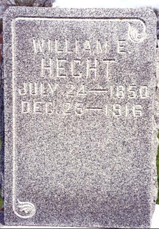 HECHT, WILLIAM - Ida County, Iowa | WILLIAM HECHT