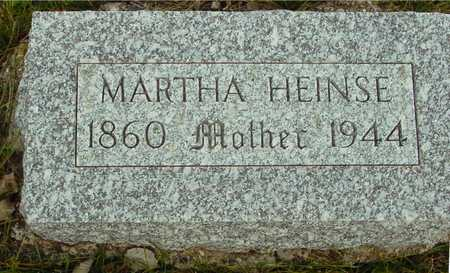 HEINSE, MARTHA - Ida County, Iowa | MARTHA HEINSE