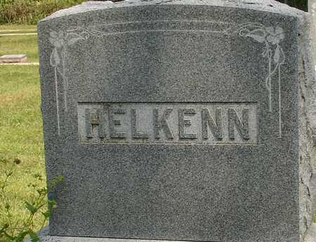 HELKENN, FAMILY MARKER - Ida County, Iowa | FAMILY MARKER HELKENN