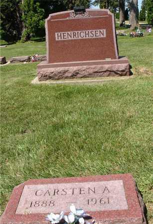 HENRICHSEN, CARSTEN A. - Ida County, Iowa | CARSTEN A. HENRICHSEN