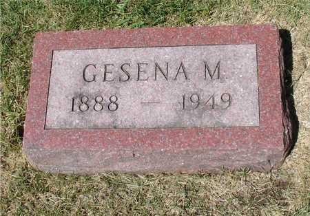 HENRICHSEN, GESENA M. - Ida County, Iowa | GESENA M. HENRICHSEN