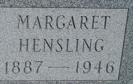HENSLING, MARGARET - Ida County, Iowa | MARGARET HENSLING