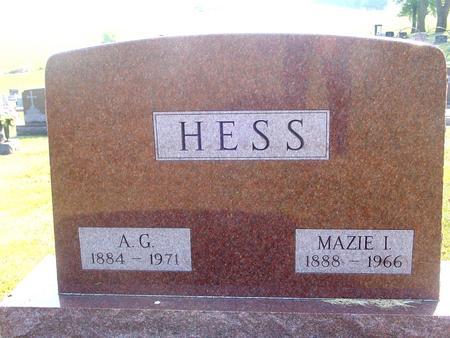HESS, A. G. & MAZIE - Ida County, Iowa | A. G. & MAZIE HESS
