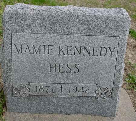 KENNEDY HESS, MAMIE - Ida County, Iowa | MAMIE KENNEDY HESS