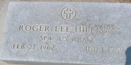 HILLMAN, ROGER - Ida County, Iowa | ROGER HILLMAN